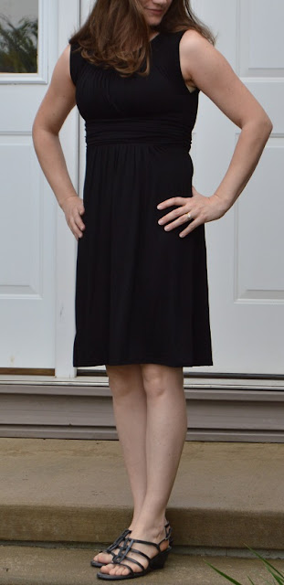 Gilli Kamile Knit Dress ~Black