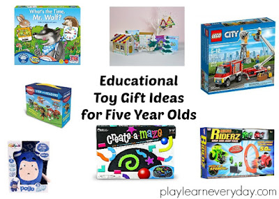 Educational Toy Gift Ideas For 5 Year Olds Play And