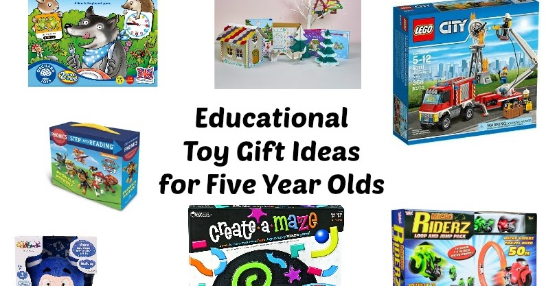Educational Toy Gift Ideas For 5 Year Olds