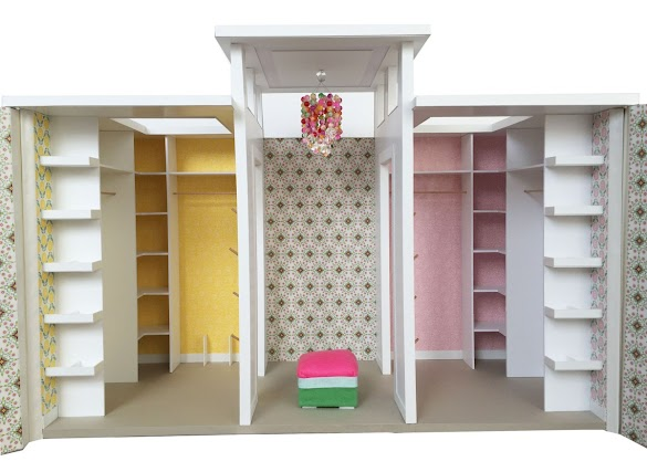 Attractive Appearance On The Barbie Closet Storage