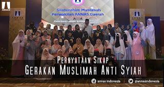 Gerakan Muslimah Anti Syiah Nyatakan Siap Hadapi Penyebaran Aliran Sesat Syiah