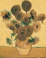 Ван Гог. Ваза с пятнадцатью подсолнухами. Арль, август 1888. Холст, масло, 93х73.