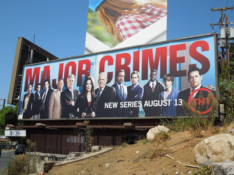 Major CrimesTV billboard