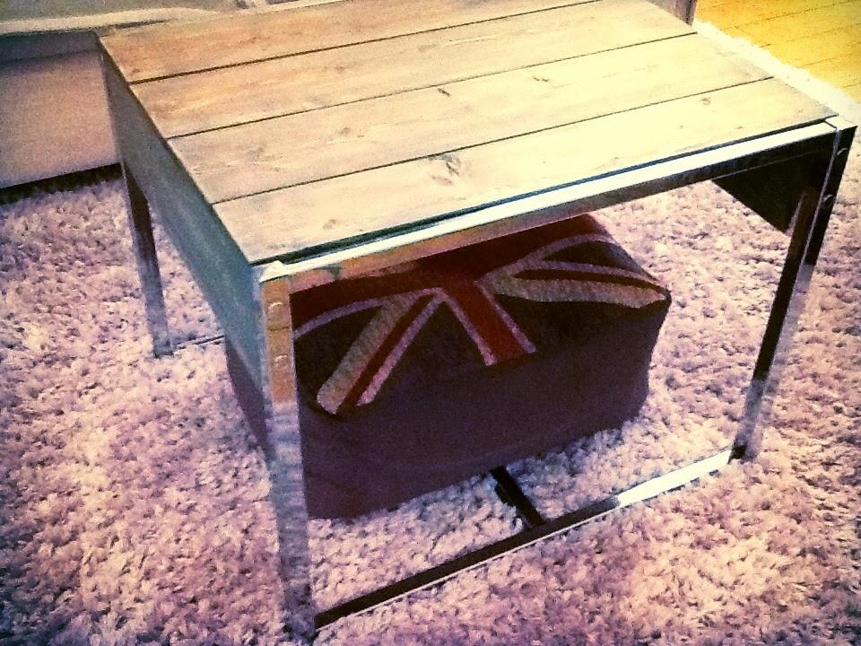 DIY Reclaimed Wood Coffee Table | Harlow & Thistle - Home ...