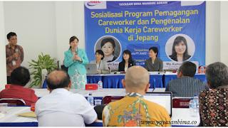 Sosialisasi Program Pemagangan Careworker dan Pengenalan Dunia KerjaCareworker di Jepang