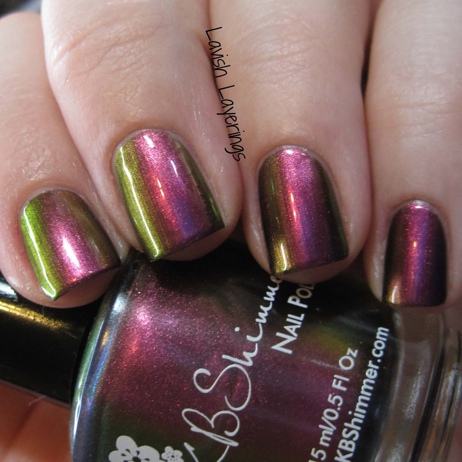 Lavish Layerings: KBShimmer Multi Chrome Collection New Additions
