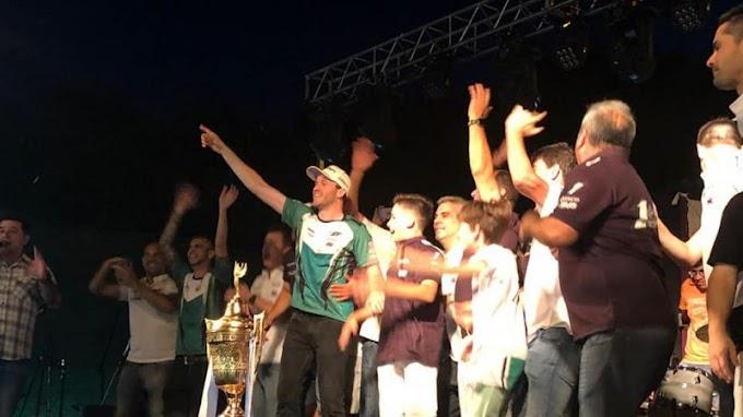 Una multitud recibió a Agustin Canapino en Arrecifes