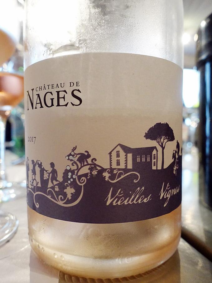 Château de Nages Vieilles Vignes Rosé 2017 (90 pts)