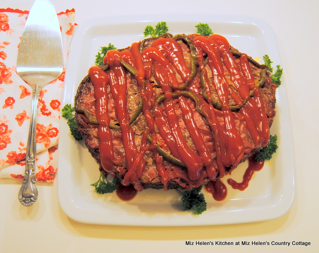 Slow Cooker Meatloaf at Miz Helen's Country Cottage