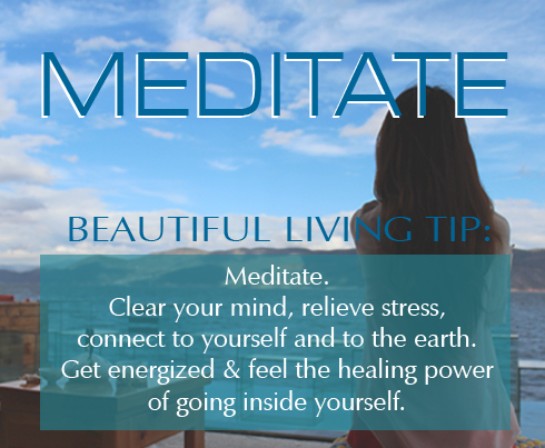 This Beautiful Living Tip gives you 4 good reasons to meditate, with helpful tips and resources to get you started.