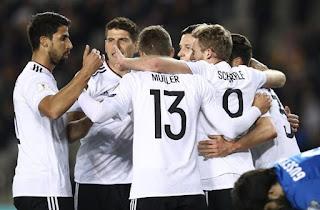 Azerbaijan vs Germany 1-4 2017 Highlights & Goals