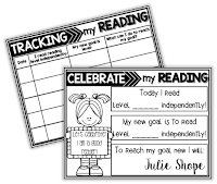 tracking and celebrating reading
