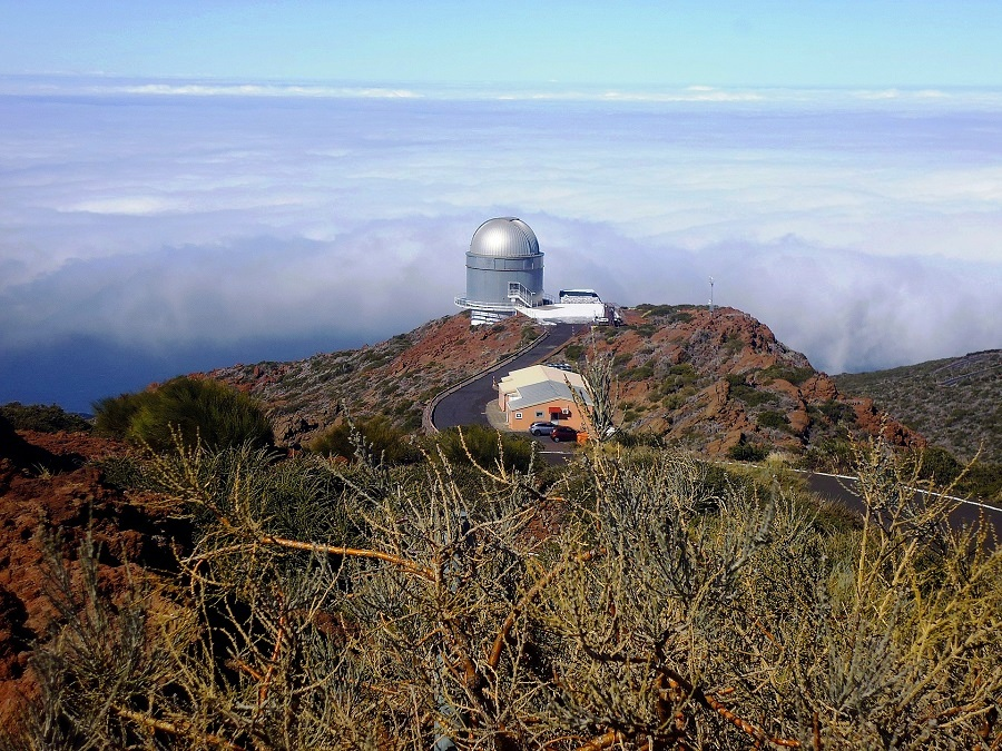 La Palma (Canary Islands), Spain - The Island Includes A Modern Observatory Which Has One Of The Most Spectacular Telescopes In The World