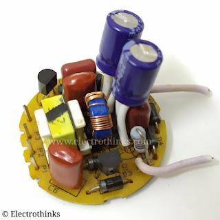 CFL Bulb Ballast Circuit Board