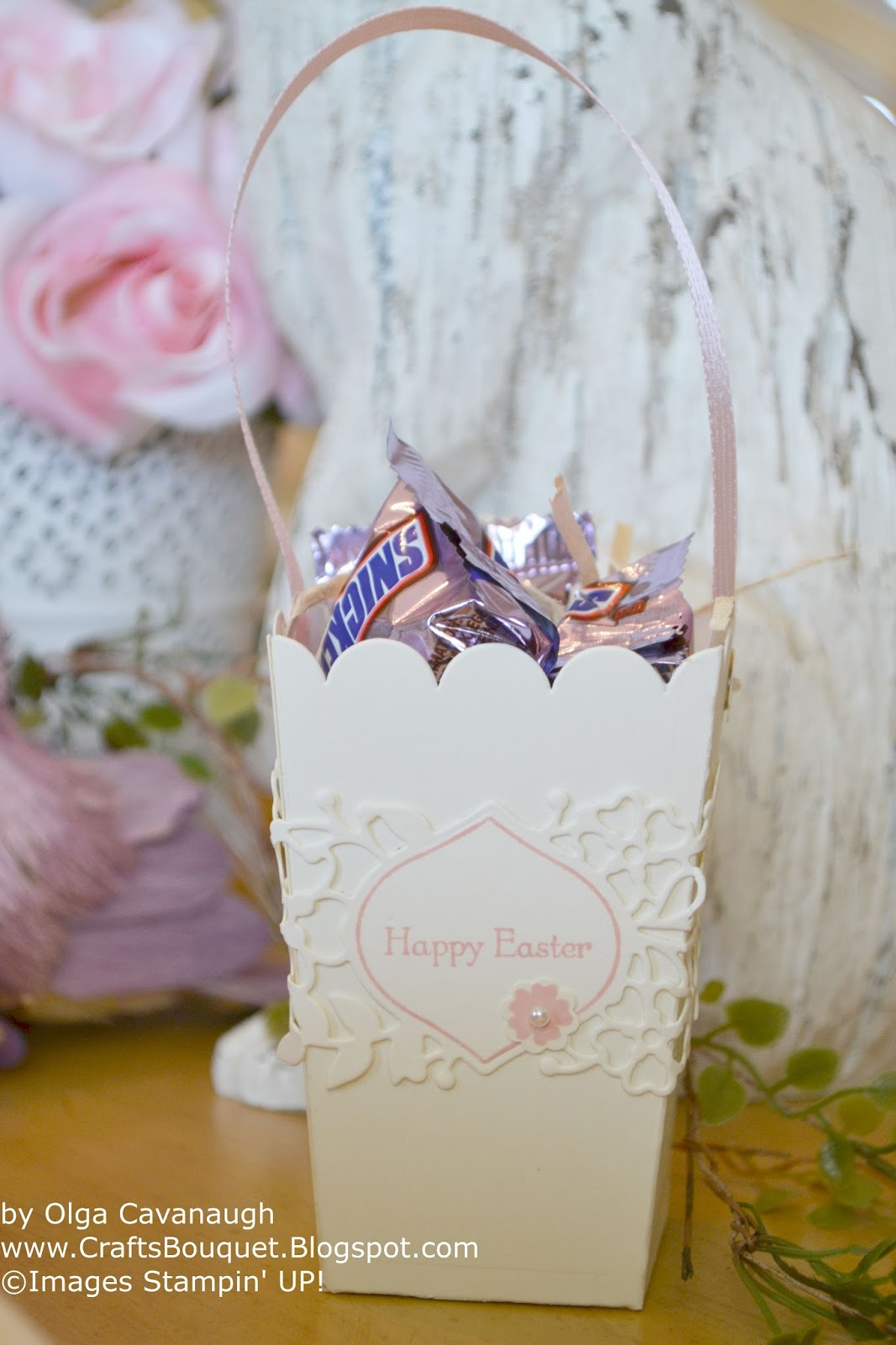 Crafts Bouquet: Stampin\'Up! Easter Table Decor and Favors