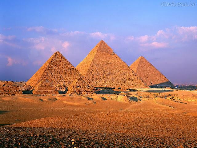 Curiosidades sobre as pirâmides de gizé