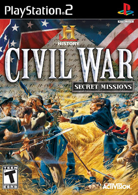 History Channel Civil War: Secret Missions (PS2) 2008