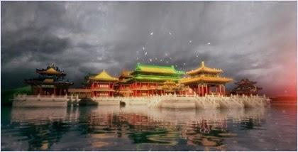 ภาพจำลองพระราชวังหยวนหมิงหยวน