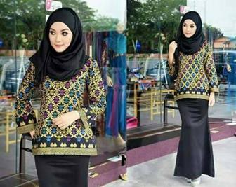 Baju Seragam Batik Guru Yang Simpel Dan Banyak Disukai