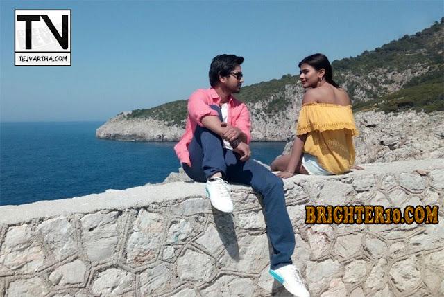 Andagadu Movie, Andagadu Movie Working Stills, Hebbah Patel Movies, Hebbah Patel Pics, Hebbah Patel Upcoming Movies, Raj Tarun New Movie, Raj Tarun Photos,