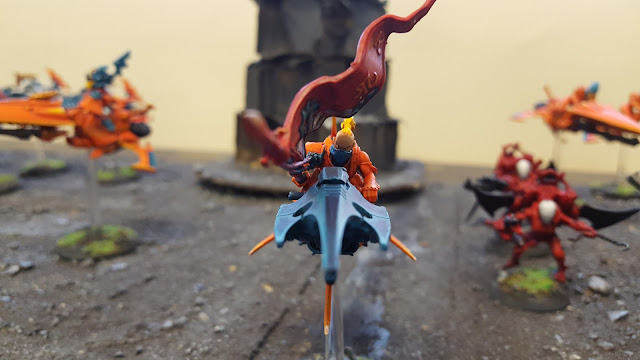 windrider eldar aeldar autarch jetbike conversion reaver drukhari shining spear dark eldar
