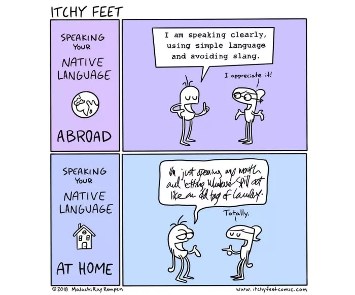 30 Hilarious Comics Depict The Differences Among Countries And Languages