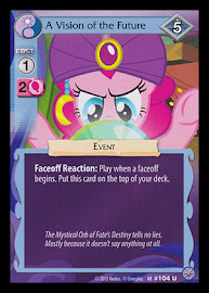 My Little Pony A Vision of the Future Premiere CCG Card