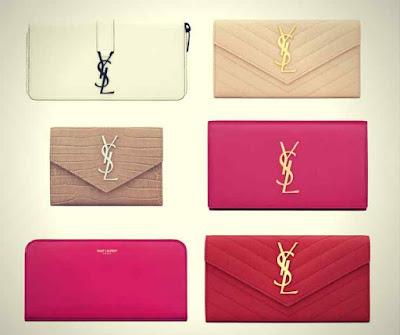 Modelos de Carteiras Femininas Yves Saint Laurent