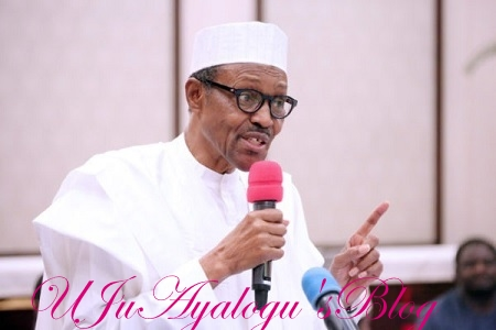 I've told BoI, Nexim Bank to lend you money, Buhari tells entertainers