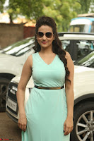 Manjusha in beautiful thin green gown At Jaya Janaki Nayaka le Logo Launch ~  Exclusive 112.JPG