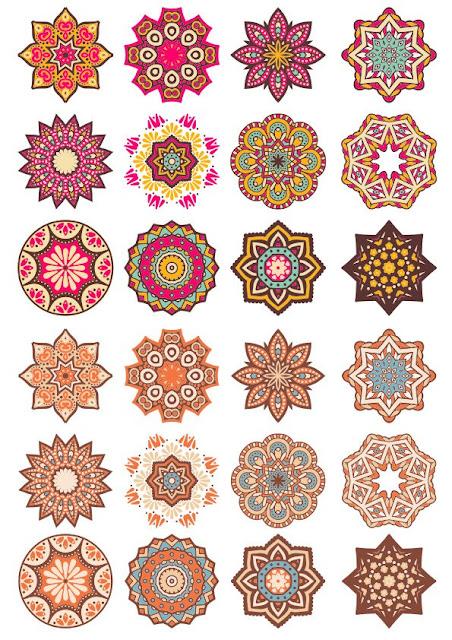 Mandala Pattern Doodle