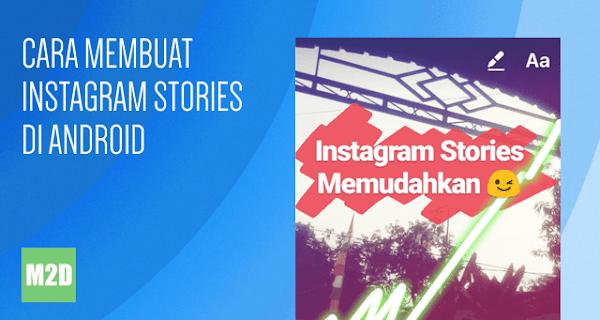 Membuat Instagram Stories