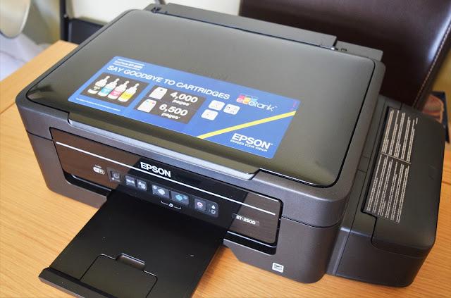 Epson EcoTank ET-2500 Multifunction Printer