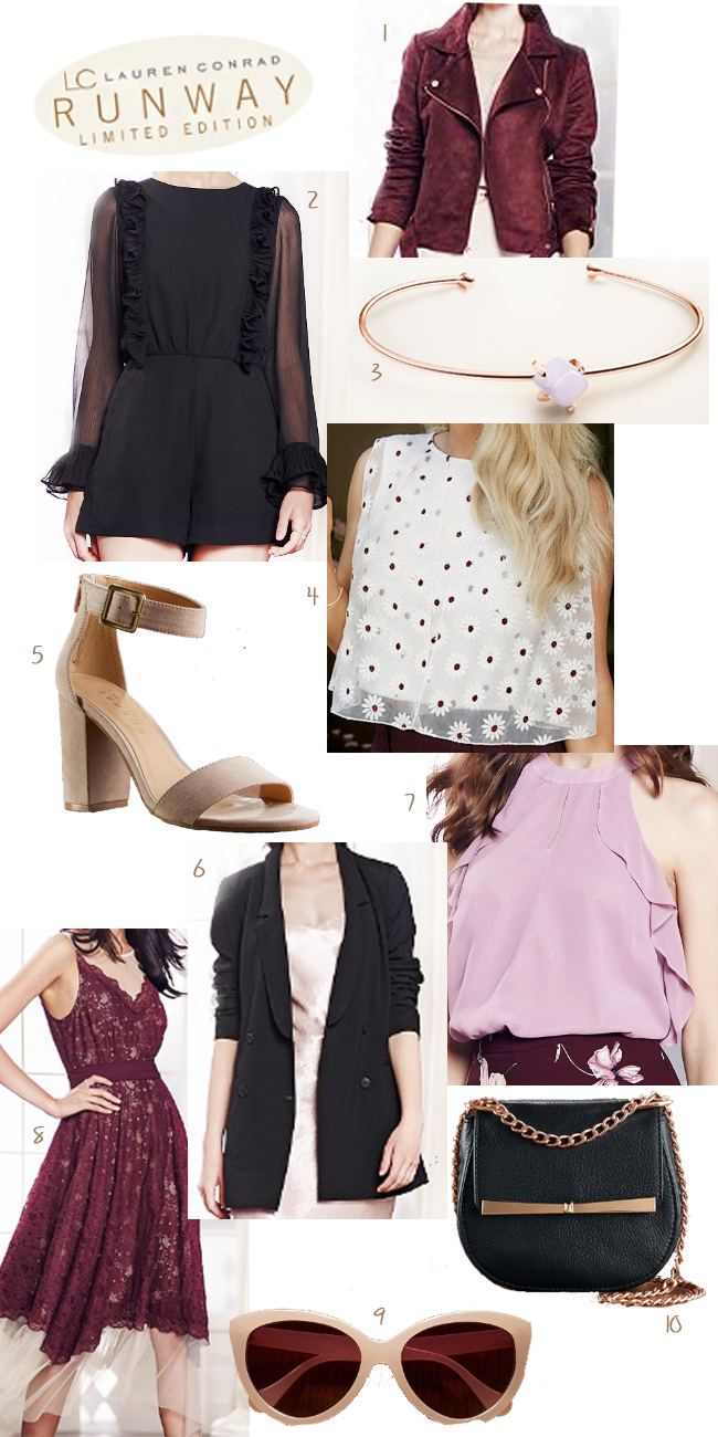 LC Lauren Conrad Runway Collection 2016 for Kohls