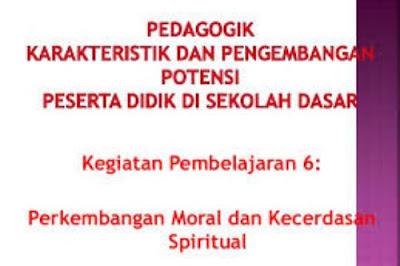 Perkembangan Moral dan Kecerdasan Spiritual Anak