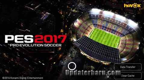 game Update PES2017 Apk OBB Full Data v0.9 Terbaru For Android Work For Jellybean MOD