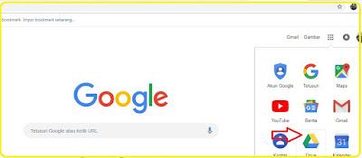cara menyimpan file dan foto di google drive