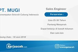 Lowongan Kerja Terbaru 2019 S1 Gaji 4 s.d 5.2 Juta di PT MUGI