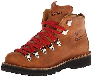 third anniversary present leather hiking boot
