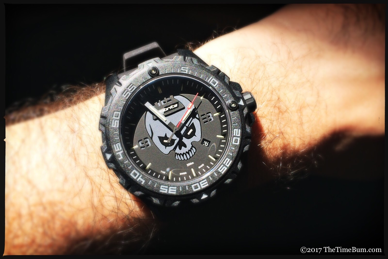 ArmourLite IsoBrite ISO3002 Night Enforcer Limited Edition wrist