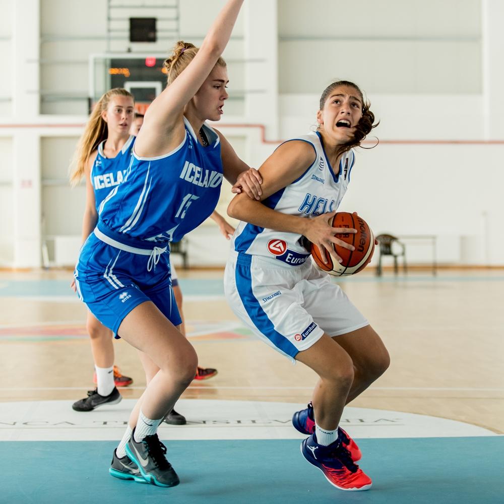 Δύο στα δύο η Εθνική κορασίδων στην Οραντέα - Φωτορεπορτάζ από την νίκη επί της Ισλανδίας (49-28)
