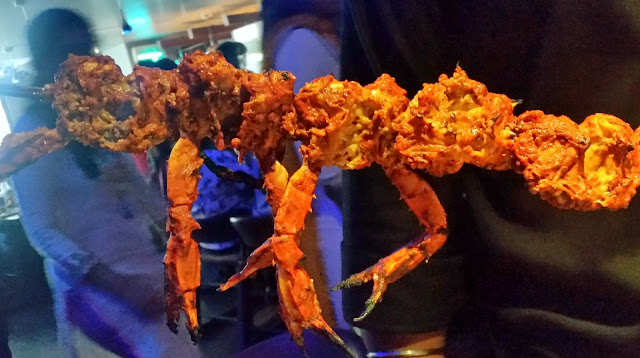 Tandoori Crab