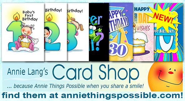 You'll find Annie Lang's character milestone cards at http://www.anniethingspossible.com/cards