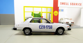 Tomica Limited Vintage test Nissan Skyline 2000GT Turbo prototype