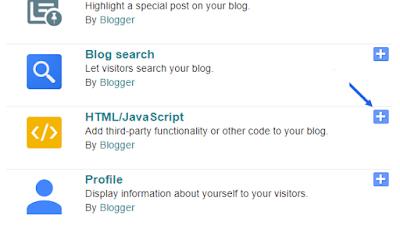 Adding Social Media Codes Blogger Sidebar