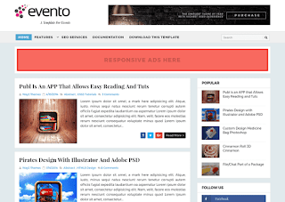 Top 5 free blogger templates in 2018,evento template,best blog designs