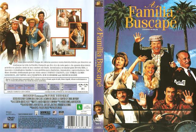 Capa DVD A Família Buscapé