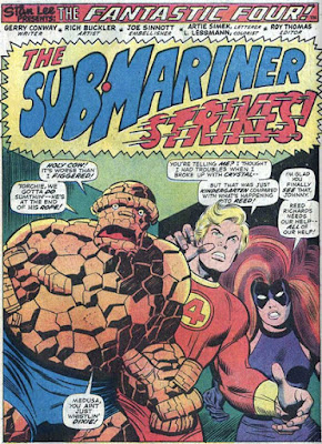 Fantastic Four 147 Conway-Buckler