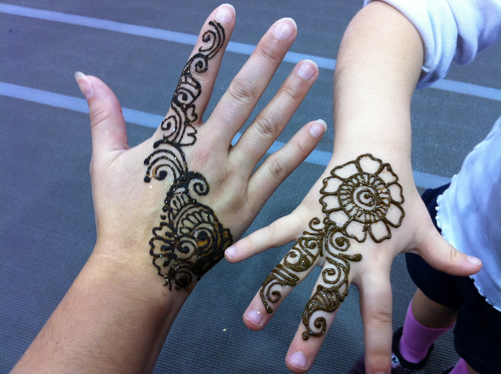 How To Draw Henna Tattoos P Art Y