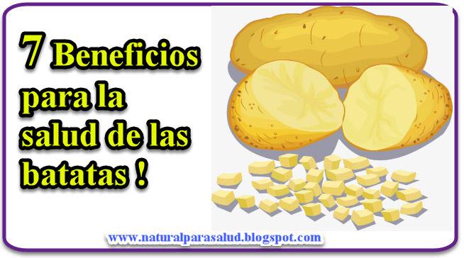 7 beneficios para la salud de las batatas !